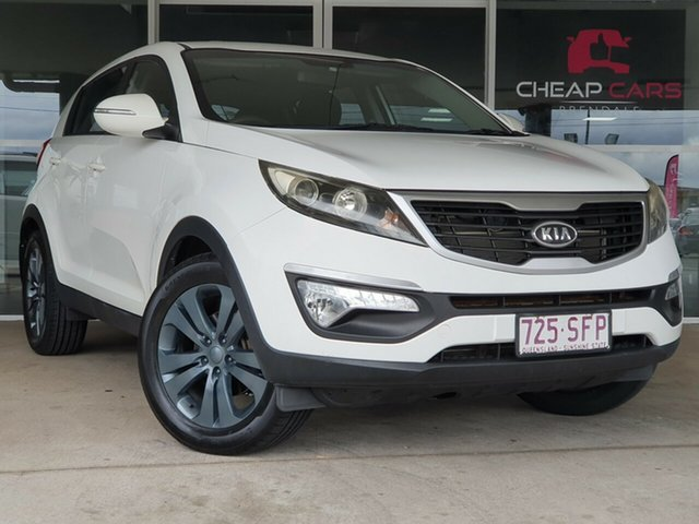 Used Kia Sportage SL MY12 SI Brendale, 2012 Kia Sportage SL MY12 SI White 6 Speed Sports Automatic Wagon