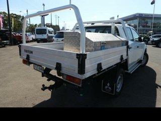 2016 Mitsubishi Triton MQ MY16 GLX (4x4) White 6 Speed Manual Dual Cab Utility