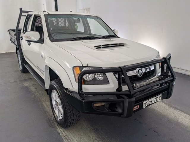 Used Holden Colorado RC MY11 LX Crew Cab Maryville, 2011 Holden Colorado RC MY11 LX Crew Cab White 5 Speed Manual Utility
