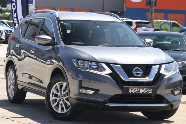 Used Nissan X-Trail T32 ST-L X-tronic 2WD Chullora, 2017 Nissan X-Trail T32 ST-L X-tronic 2WD Gun Metallic 7 Speed Constant Variable Wagon