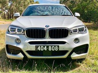 2019 BMW X6 F16 xDrive30d Coupe Steptronic White 8 Speed Sports Automatic Wagon.