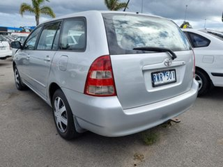 2001 Toyota Corolla ZZE122R Ascent Silver 4 Speed Automatic Wagon