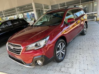 2018 Subaru Outback 2.5I Burgundy Constant Variable Wagon.