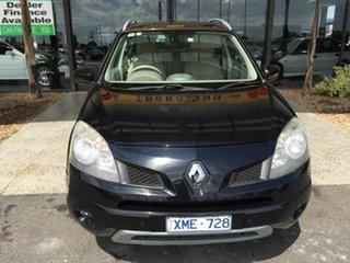 2010 Renault Koleos H45 MY10 Privilege (4x4) Black Continuous Variable Wagon.