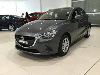 2019 Mazda 2 DJ2HA6 Neo SKYACTIV-MT Grey 6 Speed Manual Hatchback