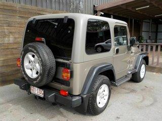2005 Jeep Wrangler TJ MY2005 Renegade Khaki 6 Speed Manual Softtop