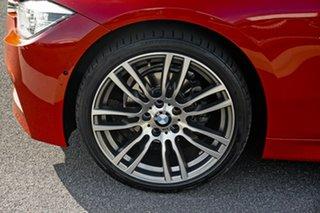 2018 BMW 3 Series F30 LCI 318i Sport Line Red 8 Speed Sports Automatic Sedan
