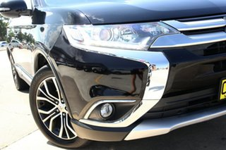 2016 Mitsubishi Outlander ZK MY17 LS Safety Pack (4x4) 7 Seats Black 6 Speed Automatic Wagon.
