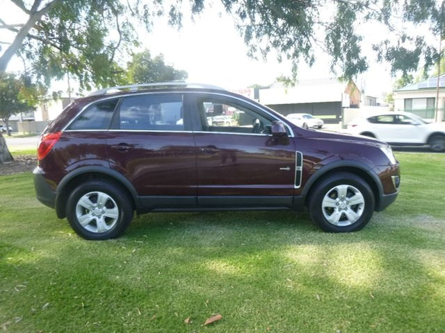 Used Holden Captiva CG Series II 5 Beverley, 2012 Holden Captiva CG Series II 5 Burgundy Manual Wagon