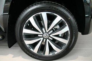 2020 Volkswagen Amarok 2H MY21 TDI580 4MOTION Perm Aventura Black 8 Speed Automatic Utility.