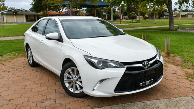 Used Toyota Camry ASV50R Atara S Ingle Farm, 2015 Toyota Camry ASV50R Atara S White 6 Speed Sports Automatic Sedan