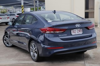 2015 Hyundai Elantra AD MY17 Elite Blue 6 Speed Sports Automatic Sedan.