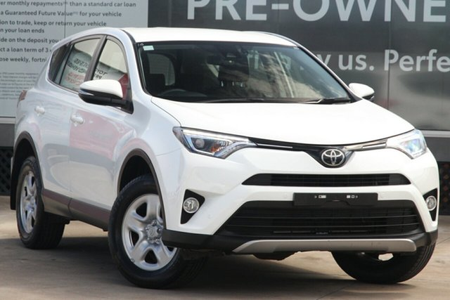 Pre-Owned Toyota RAV4 ASA44R GX AWD Guildford, 2018 Toyota RAV4 ASA44R GX AWD Glacier White 6 Speed Automatic Wagon