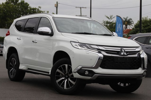 Used Mitsubishi Pajero Sport QE MY19 Exceed Mount Gravatt, 2019 Mitsubishi Pajero Sport QE MY19 Exceed White 8 Speed Sports Automatic Wagon