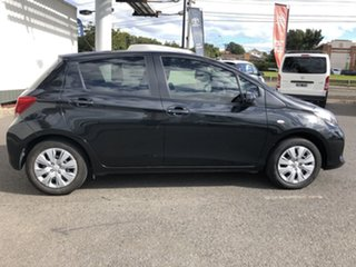 2016 Toyota Yaris NCP130R Ascent Black 4 Speed Automatic Hatchback.