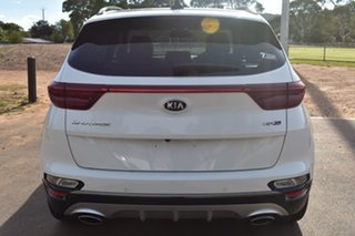 2020 Kia Sportage QL MY21 GT-Line AWD Snow White Pearl 8 Speed Sports Automatic Wagon