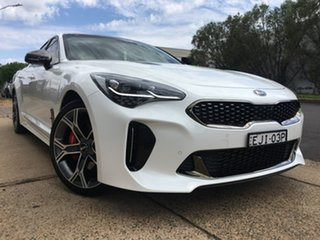 2018 Kia Stinger CK GT White Sports Automatic.