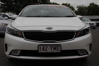 2016 Kia Cerato YD MY17 SLi White 6 Speed Sports Automatic Sedan.