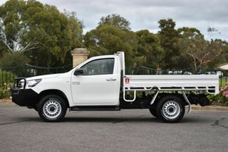 2016 Toyota Hilux GUN126R SR White 6 Speed Manual Cab Chassis