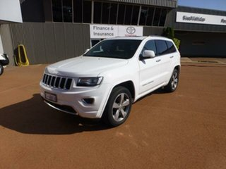 2015 Jeep Grand Cherokee WK MY15 Overland (4x4) 8 Speed Automatic Wagon
