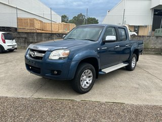 2007 Mazda BT-50 B3000 SDX (4x4) Blue 5 Speed Automatic Dual Cab Pick-up