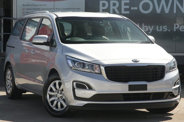 Pre-Owned Kia Carnival YP MY19 S Guildford, 2018 Kia Carnival YP MY19 S Silver 8 Speed Sports Automatic Wagon