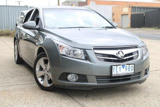 Used Holden Cruze JG CDX West Footscray, 2010 Holden Cruze JG CDX Grey 5 Speed Manual Sedan