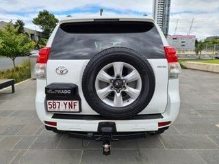 2013 Toyota Landcruiser Prado KDJ150R GXL White 6 Speed Manual Wagon