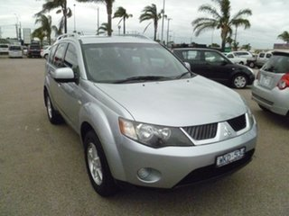2008 Mitsubishi Outlander ZG MY08 LS Silver 6 Speed Constant Variable Wagon.