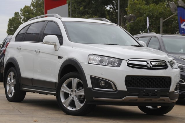 Used Holden Captiva CG MY14 7 AWD LTZ Toowoomba, 2014 Holden Captiva CG MY14 7 AWD LTZ White 6 Speed Sports Automatic Wagon