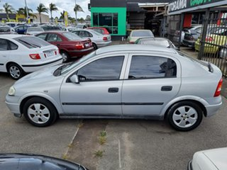 2002 Holden Astra TS CD Silver 4 Speed Automatic Hatchback.