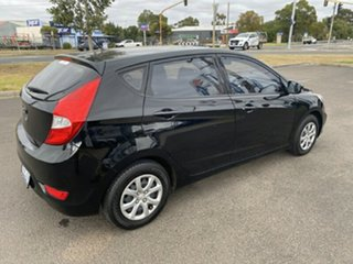 2014 Hyundai Accent RB2 Active Black 4 Speed Sports Automatic Hatchback