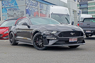 2018 Ford Mustang FN 2019MY GT Black 6 Speed Manual Fastback.
