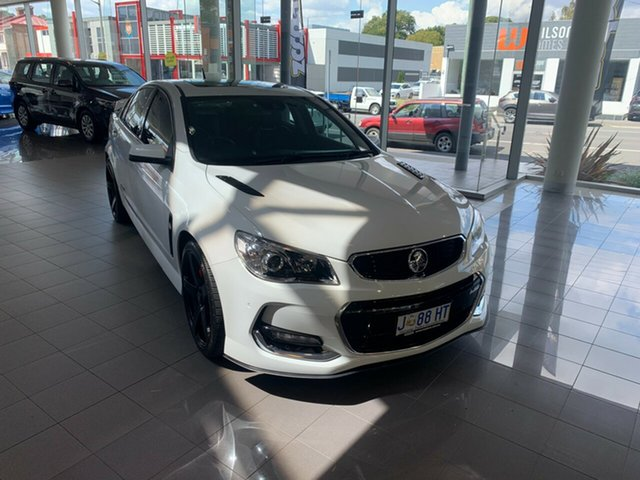 Used Holden Commodore VF II MY16 SS V Redline Launceston, 2015 Holden Commodore VF II MY16 SS V Redline White 6 Speed Sports Automatic Sedan