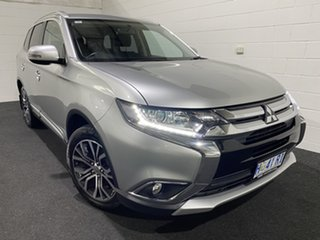 2017 Mitsubishi Outlander ZK MY17 LS 4WD Silver 6 Speed Constant Variable Wagon.