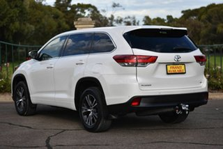 2017 Toyota Kluger GSU55R GX AWD White 8 Speed Sports Automatic Wagon