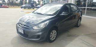 2013 Hyundai Accent RB Active Grey 4 Speed Sports Automatic Sedan