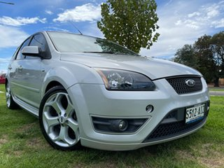 2007 Ford Focus LT XR5 Turbo Silver 6 Speed Manual Hatchback.
