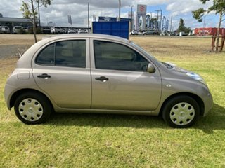 2010 Nissan Micra K13 ST Silver 4 Speed Automatic Hatchback