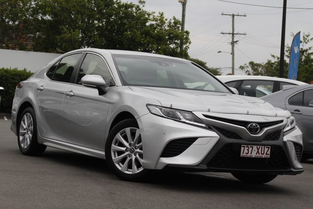 Used Toyota Camry ASV70R Ascent Sport Mount Gravatt, 2017 Toyota Camry ASV70R Ascent Sport Silver 6 Speed Sports Automatic Sedan