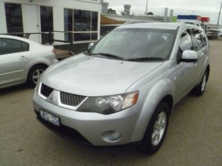 2008 Mitsubishi Outlander ZG MY08 LS Silver 6 Speed Constant Variable Wagon