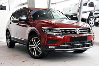 2020 Volkswagen Tiguan 5N MY20 162TSI Highline DSG 4MOTION Allspace Red 7 Speed.