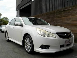 2010 Subaru Liberty B5 MY10 2.5i Lineartronic AWD White 6 Speed Constant Variable Sedan.