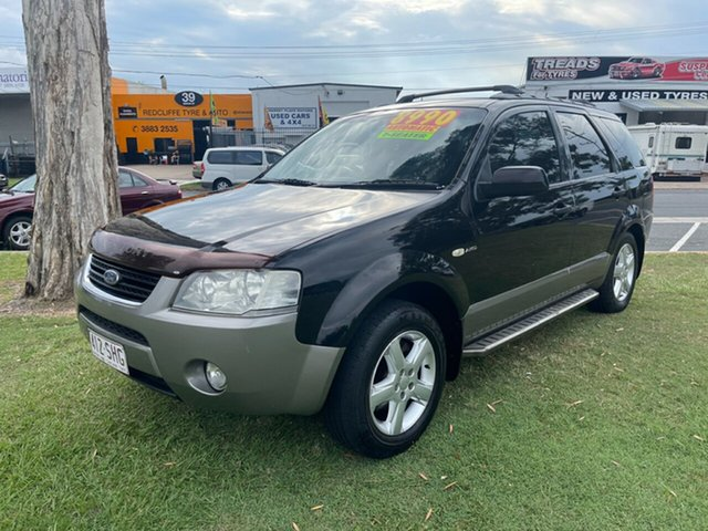 Used Ford Territory SY TS AWD Clontarf, 2006 Ford Territory SY TS AWD 6 Speed Sports Automatic Wagon