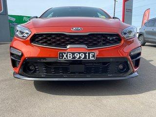 2020 Kia Cerato BD MY21 GT DCT Sunset Orange 7 Speed Sports Automatic Dual Clutch Sedan