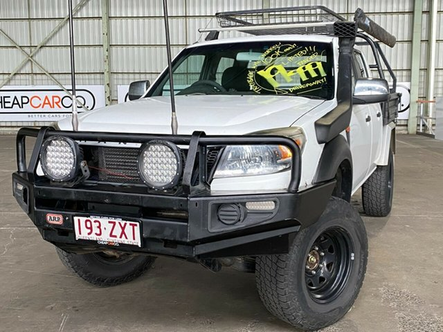Used Ford Ranger PK XL Crew Cab Rocklea, 2010 Ford Ranger PK XL Crew Cab White 5 Speed Manual Utility