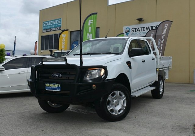 Used Ford Ranger PX XL 3.2 (4x4) Capalaba, 2014 Ford Ranger PX XL 3.2 (4x4) White 6 Speed Automatic Double Cab Pick Up