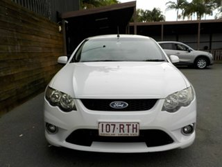 2011 Ford Falcon FG XR6 Ute Super Cab White 6 Speed Sports Automatic Utility