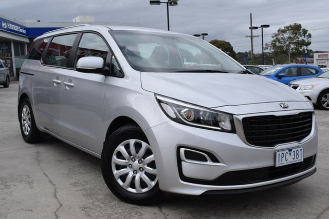 Used Kia Carnival YP MY20 S Ferntree Gully, 2019 Kia Carnival YP MY20 S Silver 8 Speed Sports Automatic Wagon