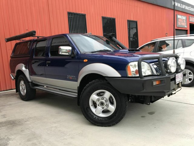 Used Nissan Navara D22 MY2008 ST-R Molendinar, 2009 Nissan Navara D22 MY2008 ST-R Blue 5 Speed Manual Utility